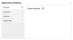 New Tweetdeck Settings
